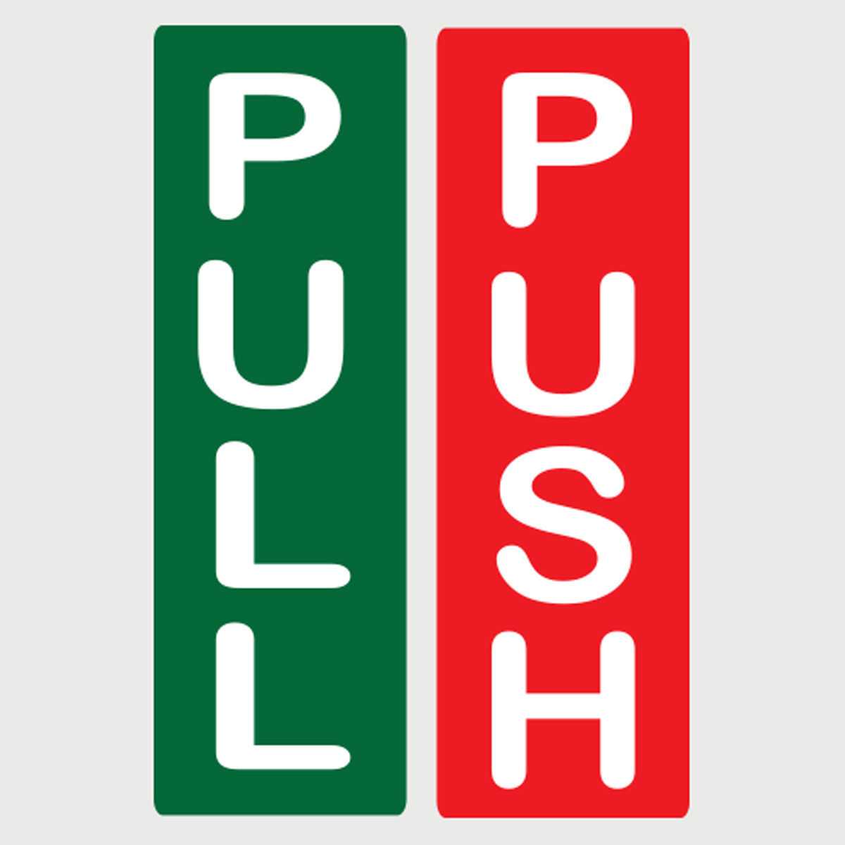pull push door stickers shop signs window salon cafe
