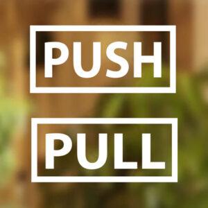 Pull-Push-Door-Stickers-Shop-Window-Salon-Bar-Cafe-Restaurant-Office-Vinyl-Sign-252354389557