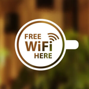 Free-WIFI-Here-Cup-Window-Sign-Vinyl-Sticker-Graphics-Cafe-Shop-Salon-Bar-Pub-252373574328