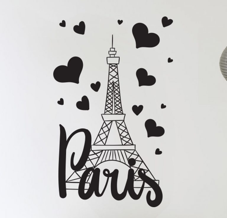 Paris wall stickers