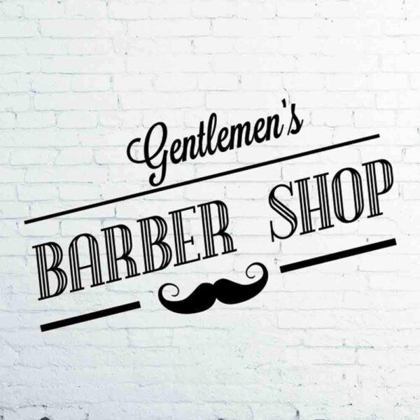 Barber-Shop-Gentlemens-Hair-Men-Salon-Window-Vinyl-Sign-Sticker-Lettering-Beauty-262945555609