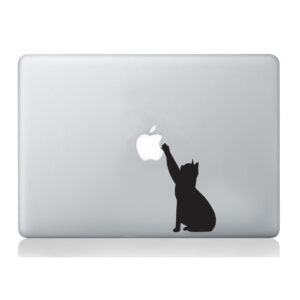 Cat-Macbook-Laptop-Decal-Vinyl-Skin-Sticker-Silhouette-Mural-Art-Graphics-Pet-262933066569