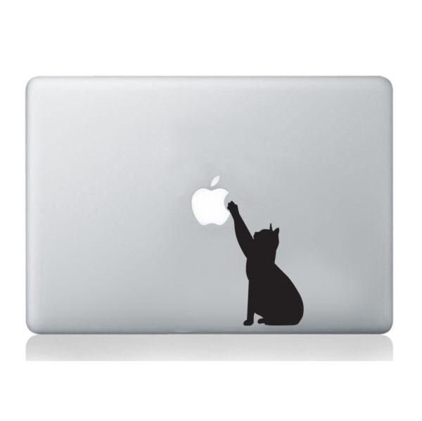 Cat-Macbook-Laptop-Decal-Vinyl-Skin-Sticker-Silhouette-Mural-Art-Graphics-Pet-262933066569