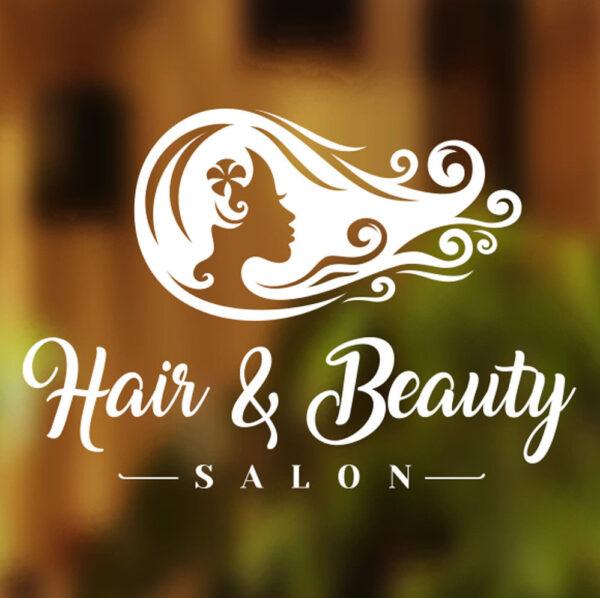 Hair-Beauty-Salon-Shop-Vinyl-Sign-Women-Hairdressers-Window-Lettering-Sticker-263751306849