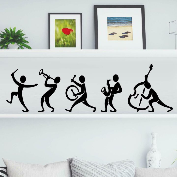 Music-Band-Kitchen-Wall-Tea-Vintage-Sticker-Vinyl-Decal-Art-Restaurant-Pub-Decor-254286953949