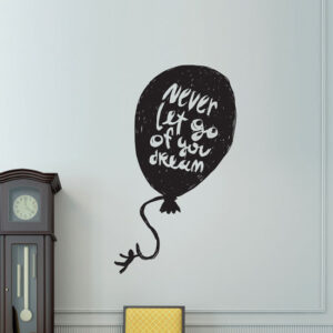 Never-Let-Go-Dreams-Wall-Sticker-Vinyl-Decal-Art-Pub-Cafe-Decor-Kitchen-Mural-262683319719