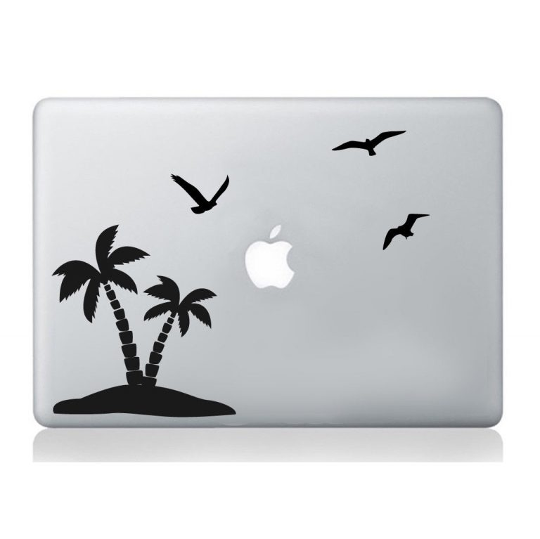 Palm-Birds-macbook-sticker-laptop-relaxing-holiday-decal-art-apple-decoration-263447463309